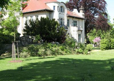 Garten Villa Weigang Bautzen