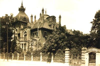 Aufnahme von 1925 - Gartentor verlegt an die Grundstücksgrenze