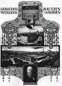 """Fabrikgebäude """"Gebrüder Weigang"""""""